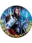 7.5 Thor THOR Personalised Edible Icing or Wafer Paper Cake Top Topper